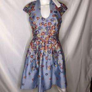 Badgley Mischka Floral Dress